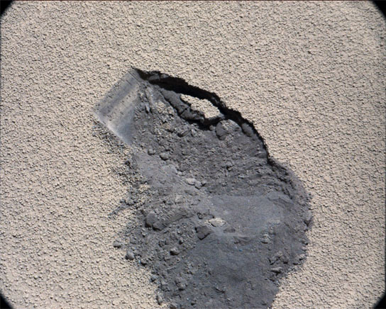 NASA's Curiosity rover scooped up some Martian soil