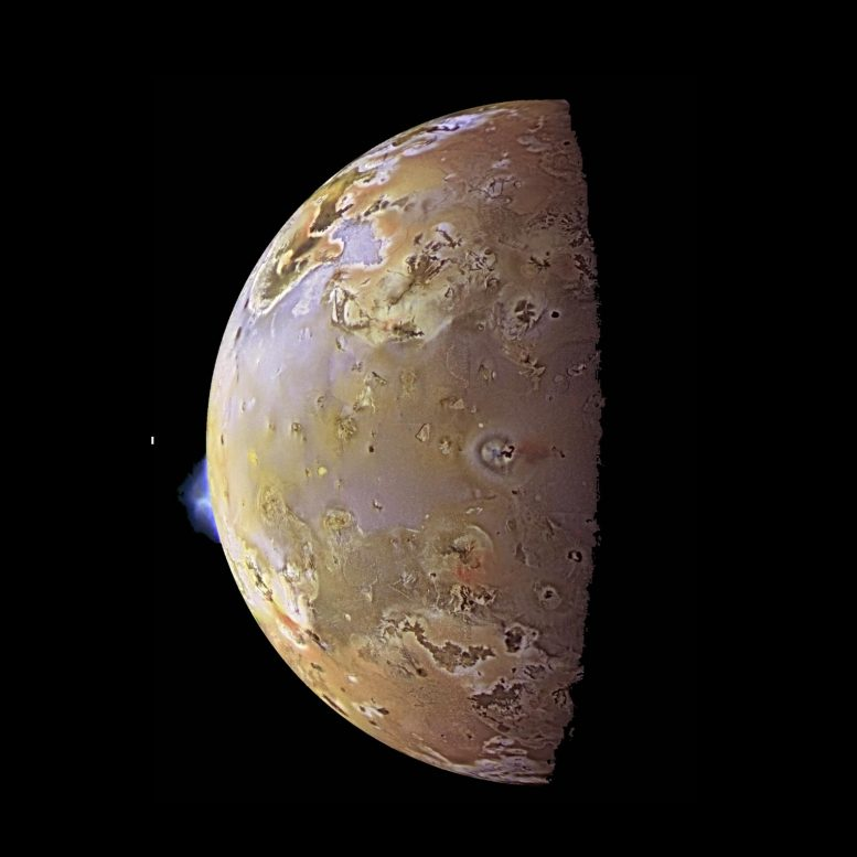 NASA's Galileo Spacecraft Jupiter's Moon Io