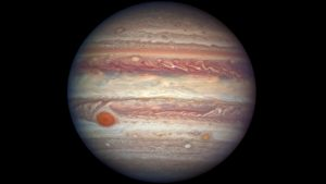 NASA's Hubble Gets a Close-up View of Jupiter