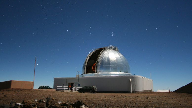 NASA's infrared telescope facility at Maunakea