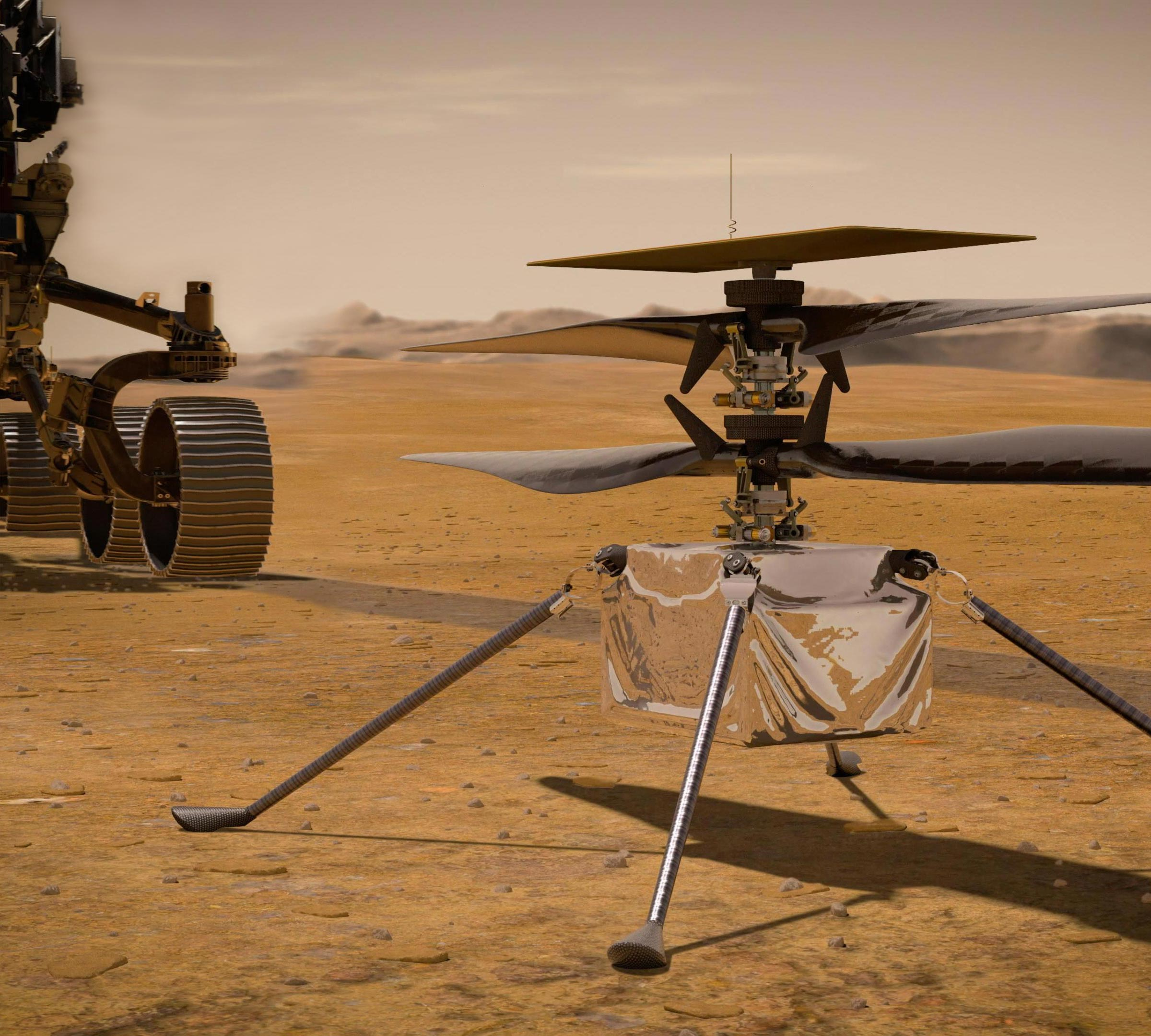 NASA's Ingenuity Helicopter Reports In From Mars