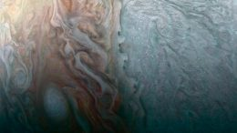 NASA's Juno Spacecraft Image of When Jovian Light and Dark Collide