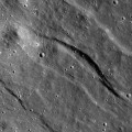 NASA's Lunar Reconnaissance Orbiter (LRO) spacecraft show the moon's crust is being stretched