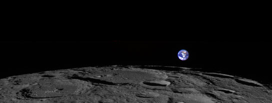 NASAs Lunar Reconnaissance Orbiter Views Earth