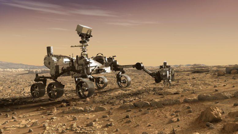 NASA's Mars 2020 Perseverance Rover Robotic Arm