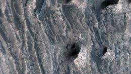 NASA's Mars Reconnaisance Orbiter Views Sedimentary Deposits