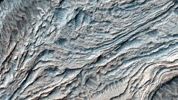 NASA's Mars Reconnaissance Orbiter Views Clinoforms in Melas Chasma