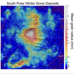 NASA's Mars Reconnaissance Orbiter have detected carbon-dioxide snow clouds on Mars