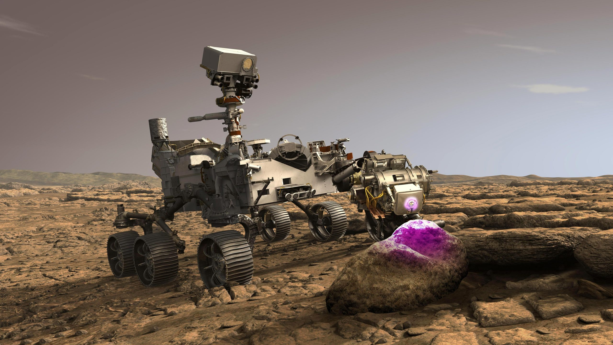 NASA's New Mars Rover Will Use X-Rays to Hunt for Chemical Fingerprints Left by Ancient Microbes - SciTechDaily