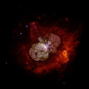 "NASA's Spitzer, Hubble Find ""Twins"" of Superstar Eta Carinae"