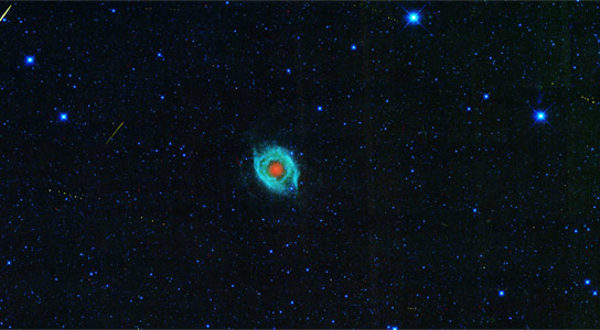 NASAs WISE Views a Dying Star