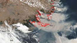 NOAA NASA Satellite Image Australia Fire