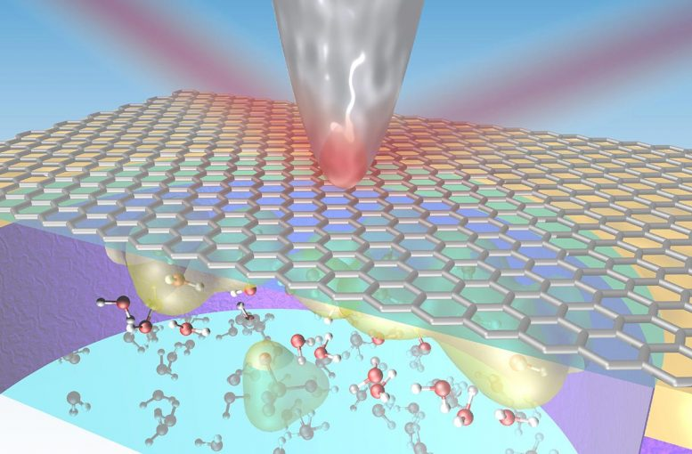 Nanoscale Peek at the Solid-Liquid Interface