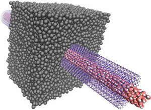 Nanotubes Channel Osmotic Power