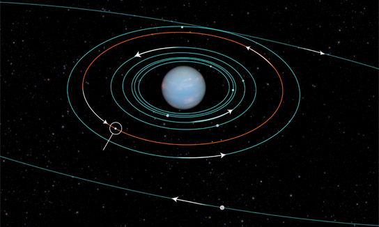 Neptunes Newly Discovered Moon