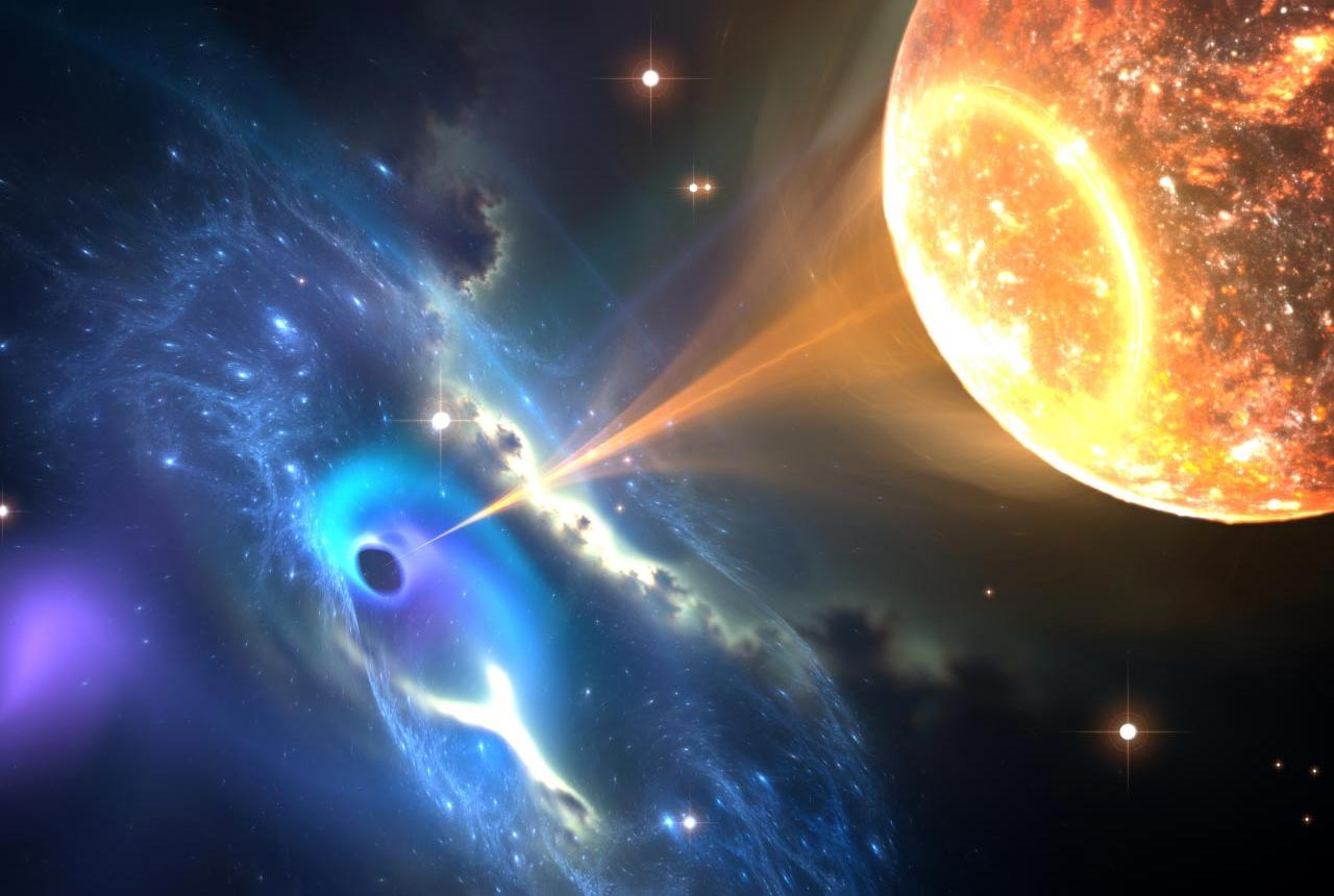 Violent Black Hole-Neutron Star Collisions May Help Settle Dispute Over Universe's Expansion