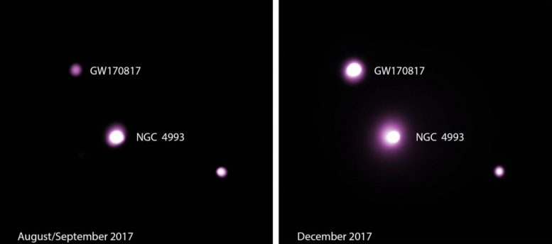 Neutron-Star Merger Yields New Puzzle for Astronomers