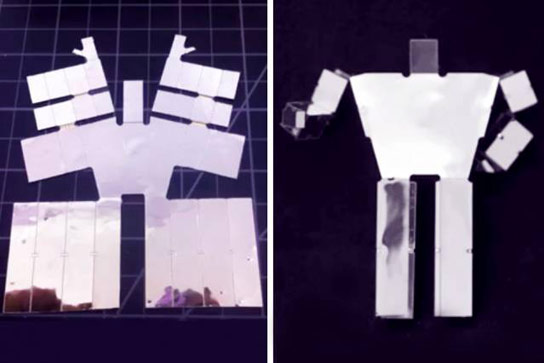 New Algorithms and Electronics Could Enable Printable Robots that Self Assemble