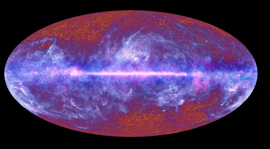 New Analysis of CMB Radiation Data Provides a Look at the First Hundred Thousand Years of Our Universe