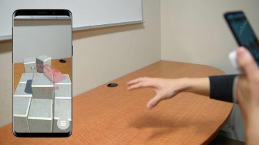 New Augmented Reality System Lets Smartphone Users Manipulate Virtual