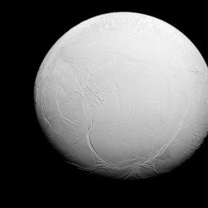 New Cassini Image of Saturn's Moon Enceladus