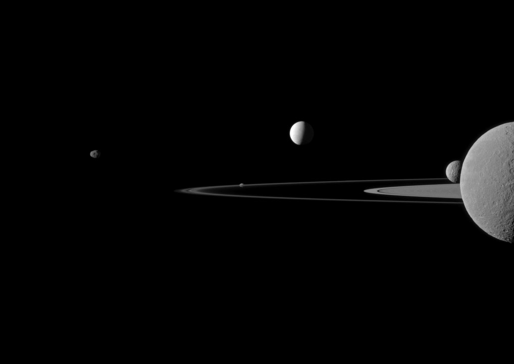 new pictures from saturn cassini - photo #34