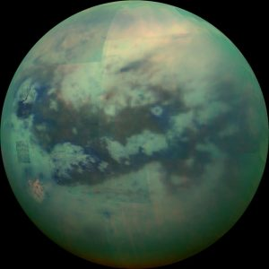 New Cassini Image of Saturn's Moon Titan