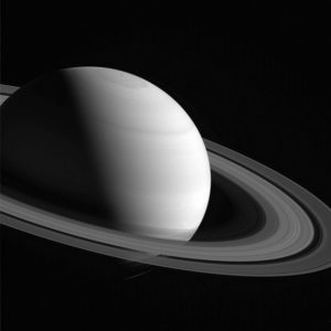 New Cassini Image of the Planet Saturn