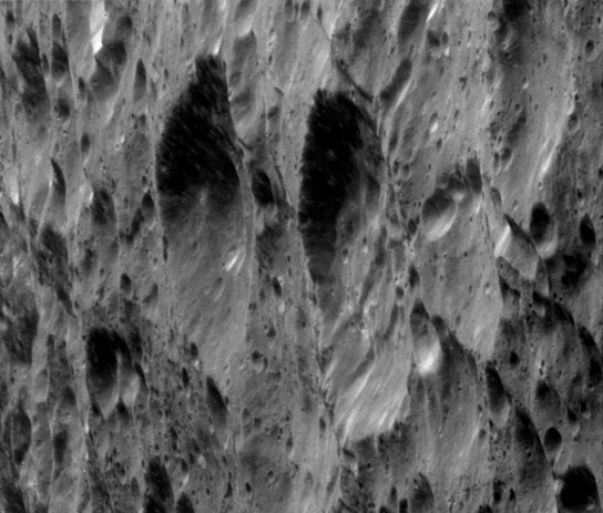 New Cassini Images of Rhea