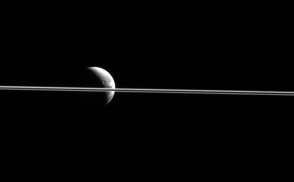 New Cassini Spacecraft Image of Dione