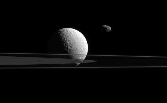 New Cassini View of Janus and Tethys