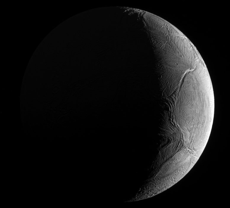 New Cassini View of a Potentially Hospitable Enceladus