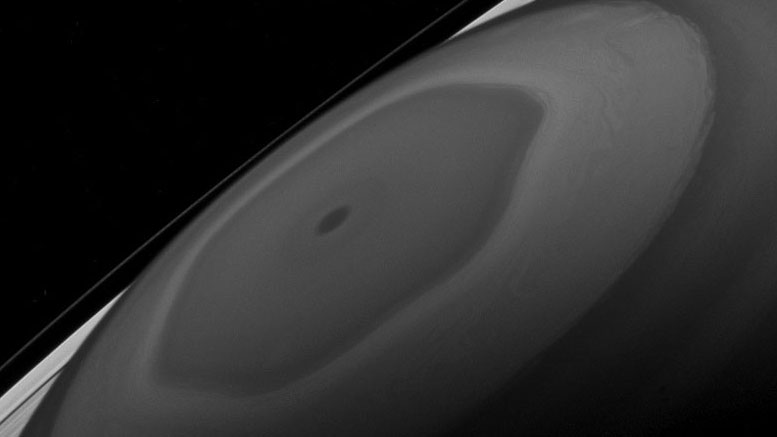 New Cassini View of the North Pole of Saturn