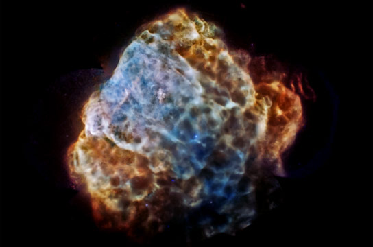 New Chandra Image of Puppis A
