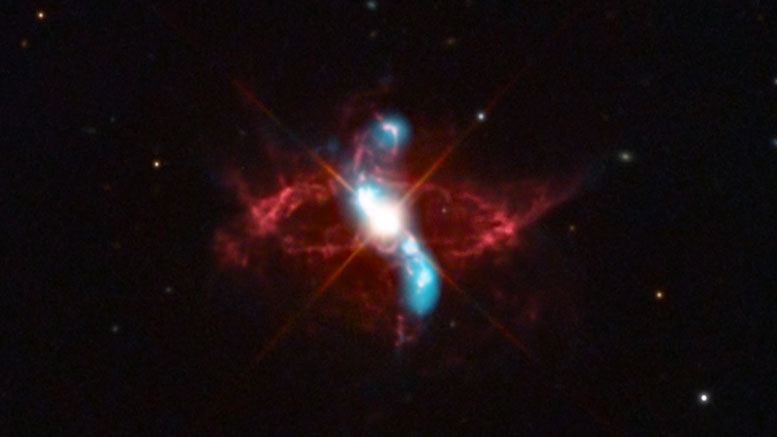 New Chandra Image of R Aquarii
