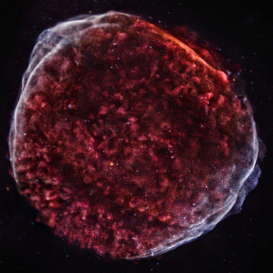 New Chandra Image of SN 1006