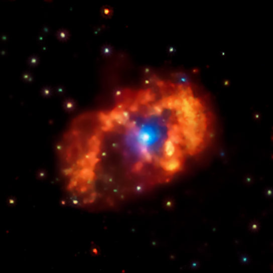 New Chandra Image of the Eta Carinae Star System