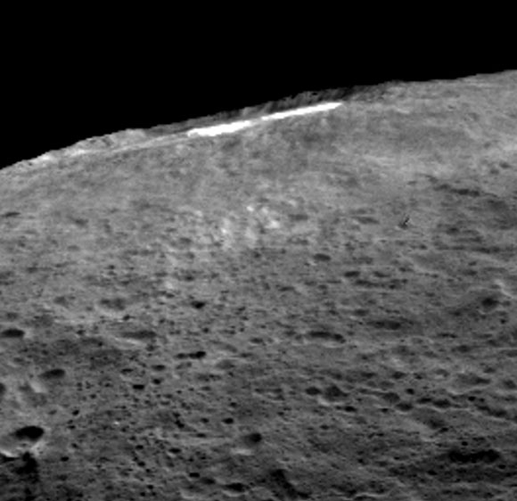New Clues about Ceres' Bright Spots and Origins