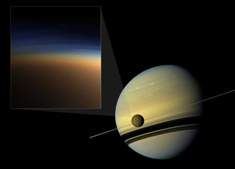 New Clues to Mystery of Titan's Atmospheric Haze