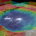 New Color-Coded Topographic Map of the Occator Crater on Ceres