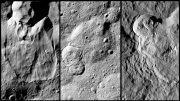 New Dawn Images Landslides on Ceres Reflect Ice Content