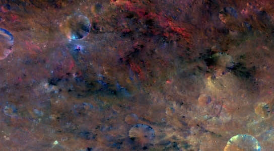 New Dawn Images of Vesta