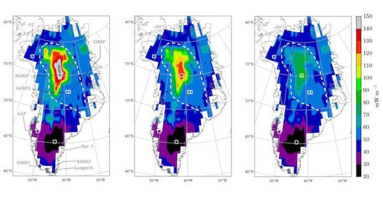 New Details of Geothermal Heat Flux Beneath the Greenland Ice Sheet