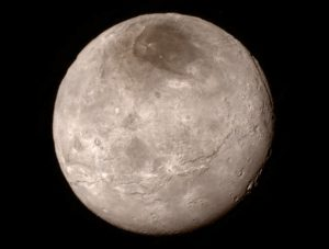 New Details of Pluto's Moon Charon Revealed In Close-up Image