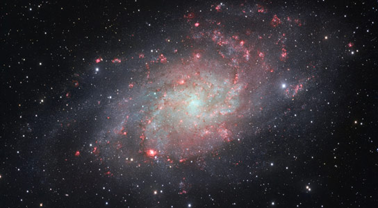 New ESO Image of Spiral Galaxy Messier 33