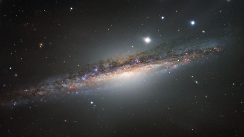New ESO Image of Spiral Galaxy NGC 1055
