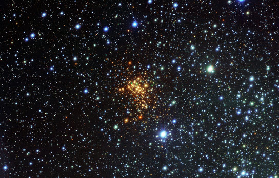 New ESO Image of the Super Star Cluster Westerlund 1