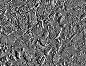 New Europa Research Identifies Possible Sites of Frozen Water Deposits