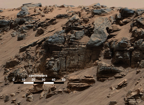 New Evidence of Past Water on Mars