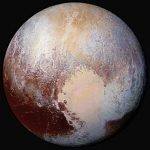 New False Color Image of Pluto